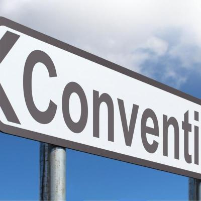 Convention sign
